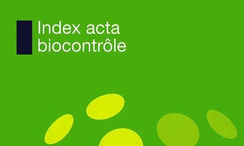 Index Acta Biocontrôle 2018